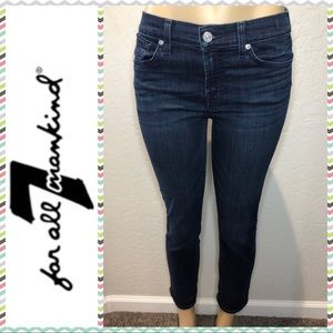 7 for all Mankind Roxanne Crop sz 29